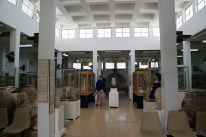 Inside the Jordan Archaeological Museum