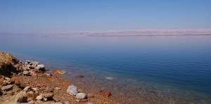 The Dead Sea from Jordan