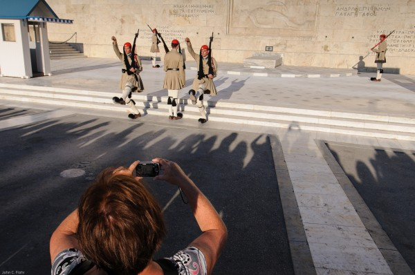 Syntagma Square Changing Of Guard