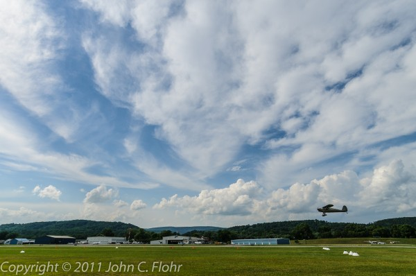 Fly-By at William T. Piper Memorial Airport