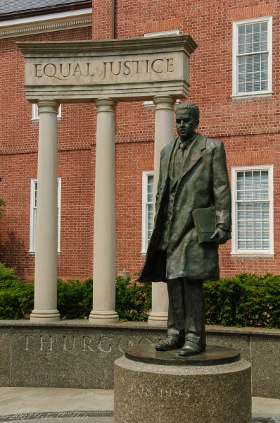 Thurgood Marshall Monument, Annapolis, MD USA