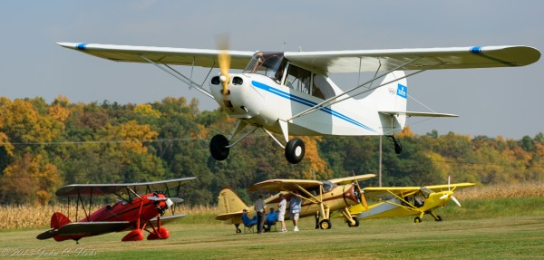 Aeronca Champ Fly-By