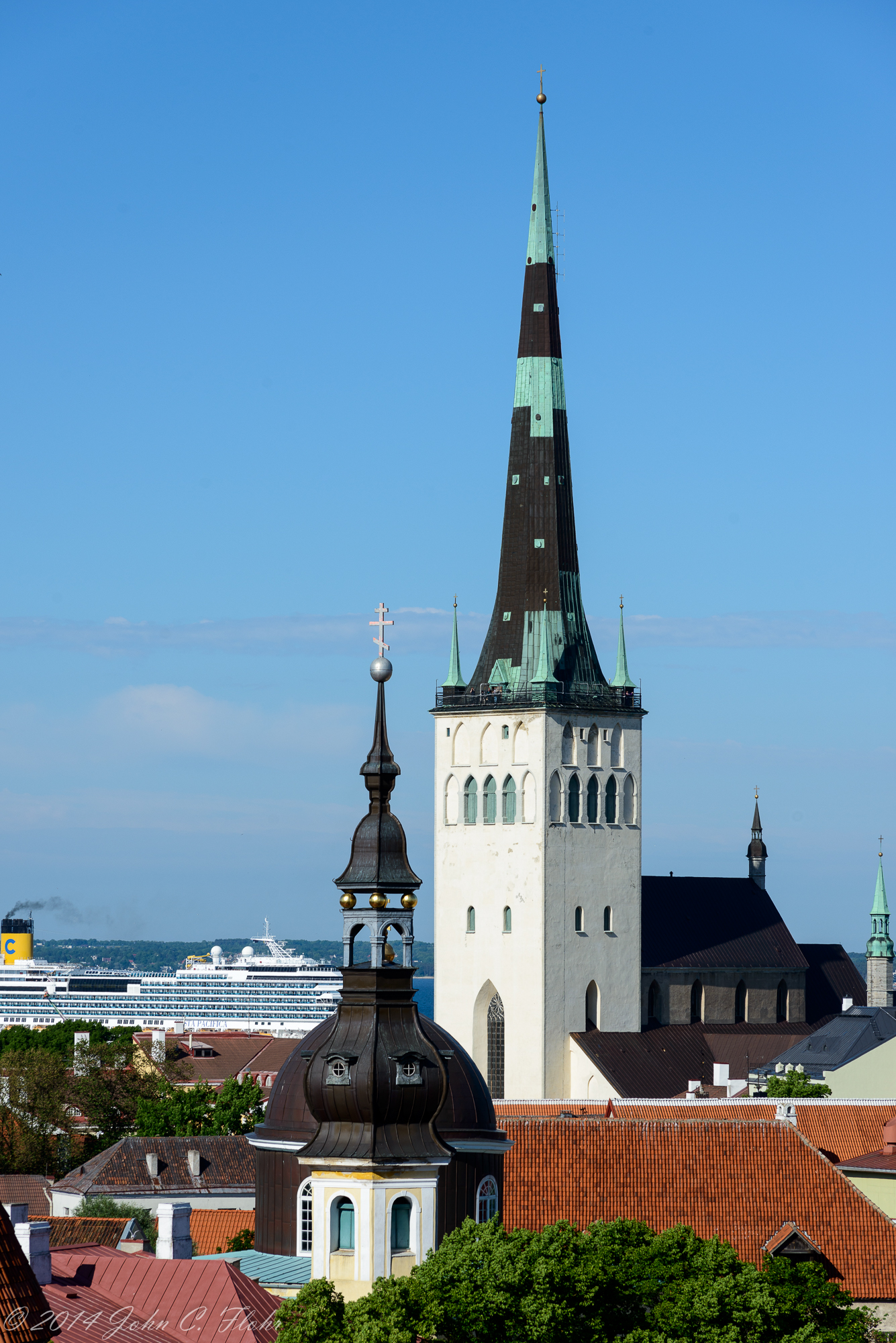 St. Olaf's Church And Harbor