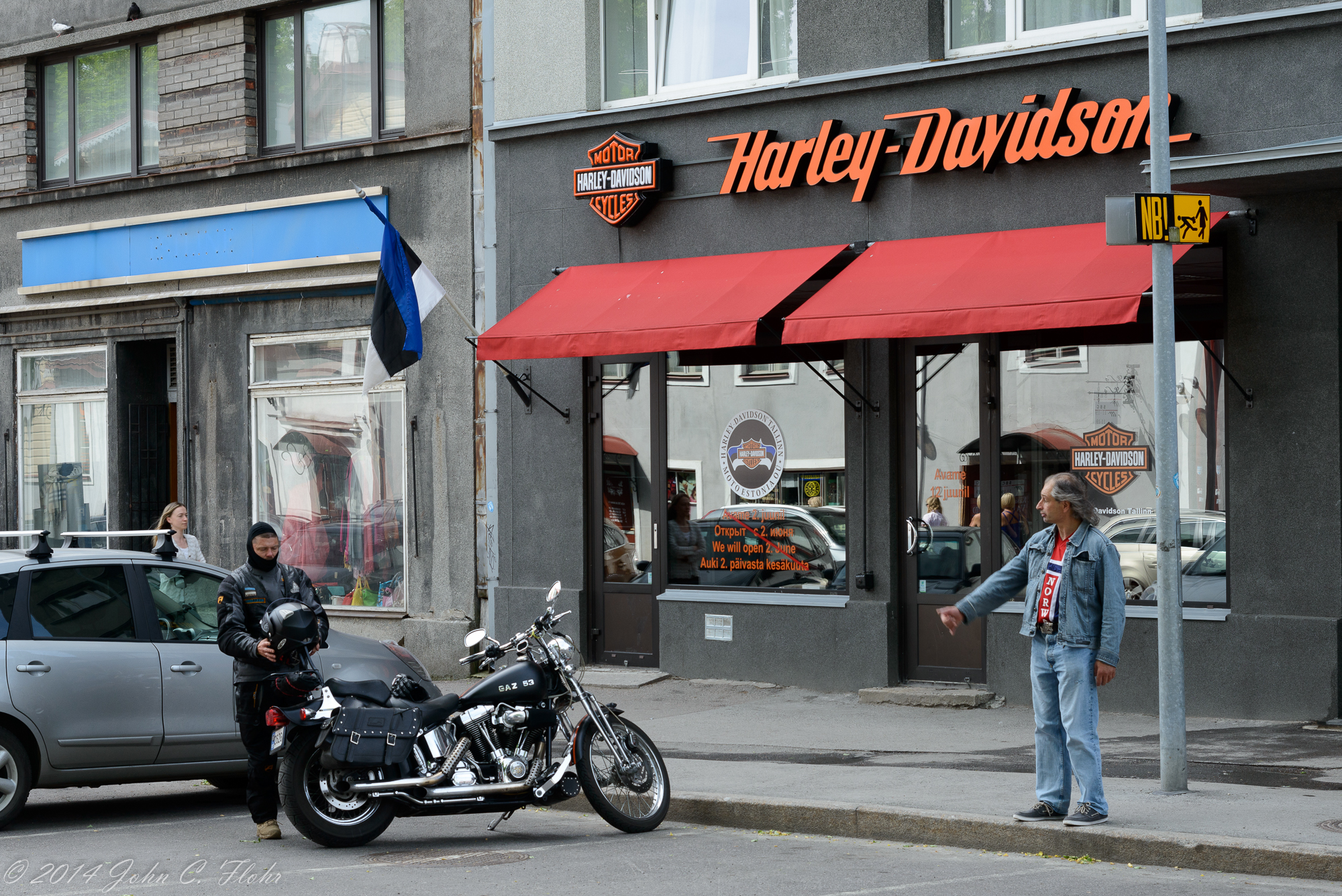 Harley Shop Just Outside Old Town