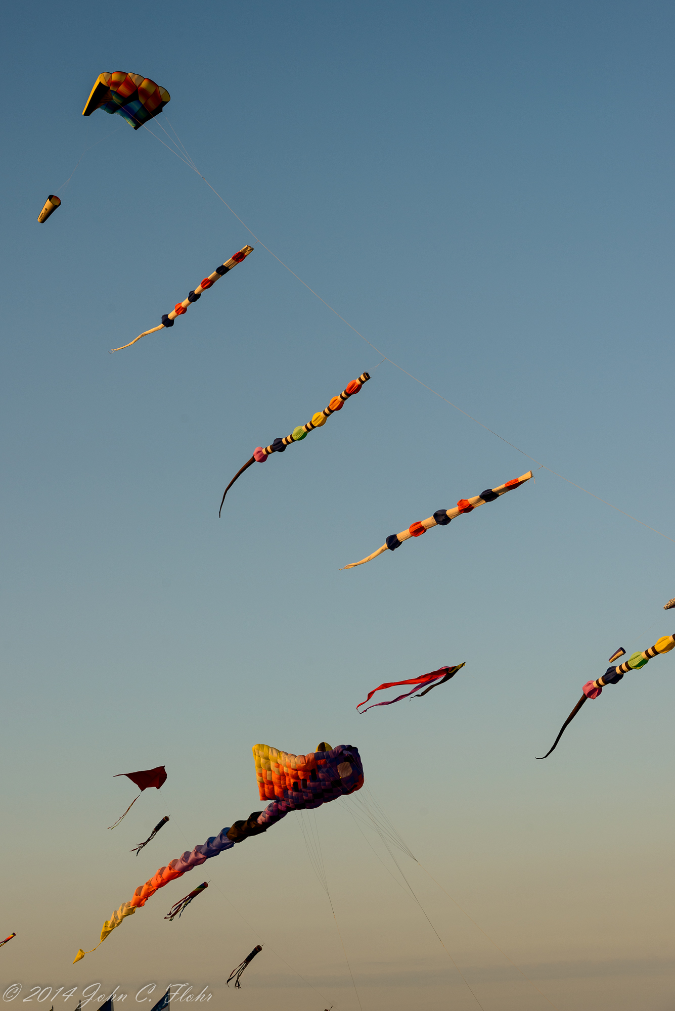 Kites At Sundown