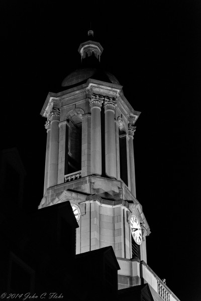 Old Main Bell Tower The Pennsylvania State University