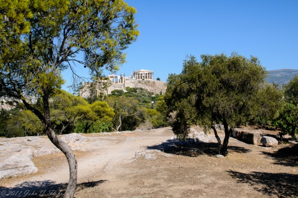 Acropolis From The Pynx