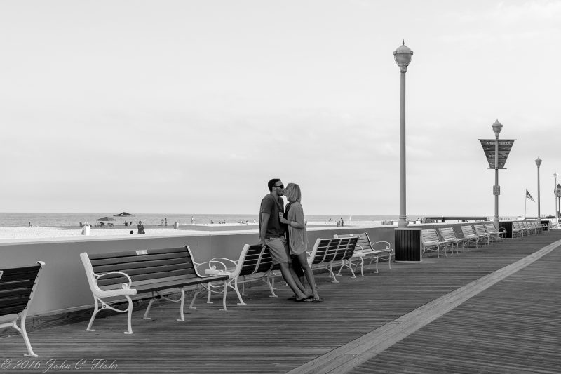 Boardwalk Kiss